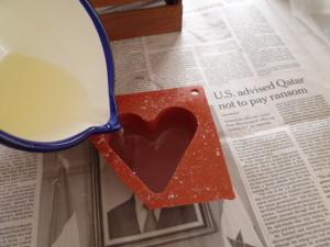 キャンドルの作り方
