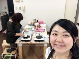 立川,キャンドル,教室,手作り