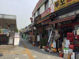 韓国問屋街