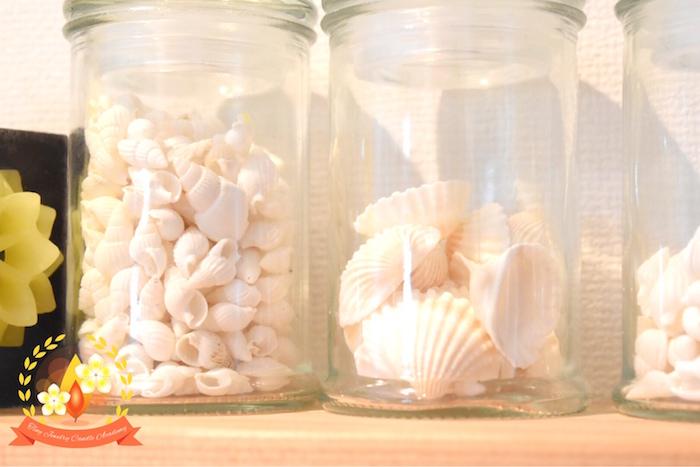 シェル,貝殻,キャンドル
