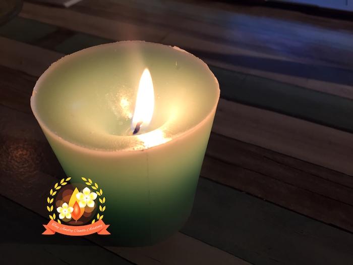 仏壇ロウソク,キャンドル作り